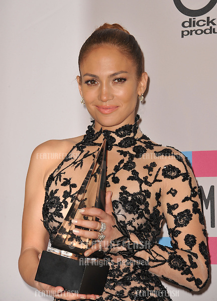 Jennifer Lopez at the 2011 American Music Awards at the Nokia Theatre L.A. Live in downtown Los Angeles..November 20, 2011  Los Angeles, CA.Picture: Paul Smith / Featureflash