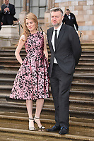 "Charlie Brooker<br /> arriving for the world premiere of ""Our Planet"" at the Natural History Museum, London<br /> <br /> ©Ash Knotek  D3491  04/04/2019"