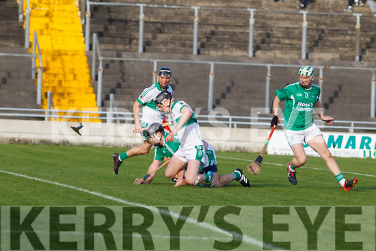 Action from the Ballyduff v Kanturk, in the Munster IHC semi final in Austion Stack Park on Sunday last.