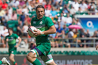 Twickenham, United Kingdom. 3rd June 2018, HSBC London Sevens Series. Game 38 Cup Semi Final. Fiji vs Ireland. <br /> <br /> Ireland's, Harry McNULTY, during the Rugby 7's, match played at the  RFU Stadium, Twickenham, England, <br /> <br /> <br /> <br /> &copy; Peter SPURRIER/Alamy Live News