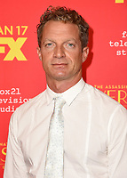 """HOLLYWOOD - JANUARY 8: Tom Rob Smith attends the Red Carpet Premiere Event for FX's """"The Assassination of Gianni Versace: American Crime Story"""" at ArcLight Hollywood on January 8, 2018, in Hollywood, California. (Photo by Scott Kirkland/FX/PictureGroup)"""