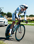 SITTARD, NETHERLANDS - AUGUST 16: Pim Ligthart of the Netherlands riding for Vacansoleil-DCM competes during stage 5 of the Eneco Tour 2013, a 13km individual time trial from Sittard to Geleen, on August 16, 2013 in Sittard, Netherlands. (Photo by Dirk Markgraf/www.265-images.com)