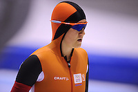 SCHAATSEN: HEERENVEEN: 01-02-2014, IJsstadion Thialf, Olympische testwedstrijd, Lotte van Beek, ©foto Martin de Jong