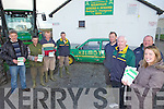 SCRAP WANTED: Kilmoyley GAA club members who are holding a scrap metal collection to raise funds, l-r: Douglas Fitzell, Nicky Cooke, Gerard Collins, John Godley, Brendan Godley, Fintan Ryan (Chairman), Brendan McElligott, Mary Brick (Secretary).