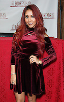 "Nicole Polizzi. TV reallity Jersey Shore star. sign her book ""Baby Bump"" in NYC. New York City on January 15, 2013. Photo by Unimediaimages/Worldmedia/ DyD Fotografos-DYDPPA"