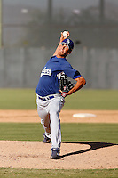 Carlos Frias - Los Angeles Dodgers 2009 Instructional League. .Photo by:  Bill Mitchell/Four Seam Images..