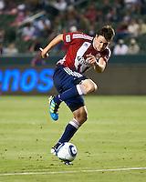 CARSON, CA – June 18, 2011: Chivas USA midfielder Ben Zemanski (21) during the match between Chivas USA and FC Dallas at the Home Depot Center in Carson, California. Final score Chivas USA 1, FC Dallas 2.