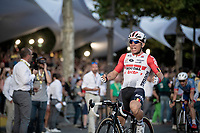 Caleb Ewan (AUS/Lotto-Soudal) wins his 3rd Tour bunch sprint; this one being the most prestigious one over the Champs-Elysées<br /> <br /> Stage 21: Rambouillet to Paris (128km)<br /> 106th Tour de France 2019 (2.UWT)<br /> <br /> ©kramon