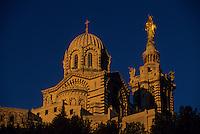 Europe/France/Provence-Alpes-Côte d'Azur/13/Bouches-du-Rhône/Marseille : Notre-Dame-de-la-Garde