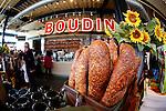 Inside the Boudin Sourdough Bread store in San Francisco, California. (Photo by Brian Garfinkel)
