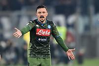 Mario Rui Silva of Napoli<br /> Roma 11-01-2020 Stadio Olimpico <br /> Football Serie A 2019/2020 <br /> SS Lazio - SSC Napoli<br /> Foto Antonietta Baldassarre / Insidefoto