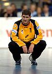 Handball Maenner Laenderspiel, Nationalmannschaft Deutschland - Schweden (31:31) Preussag Arena Hannover (Germany) Henning Fritz (GER)