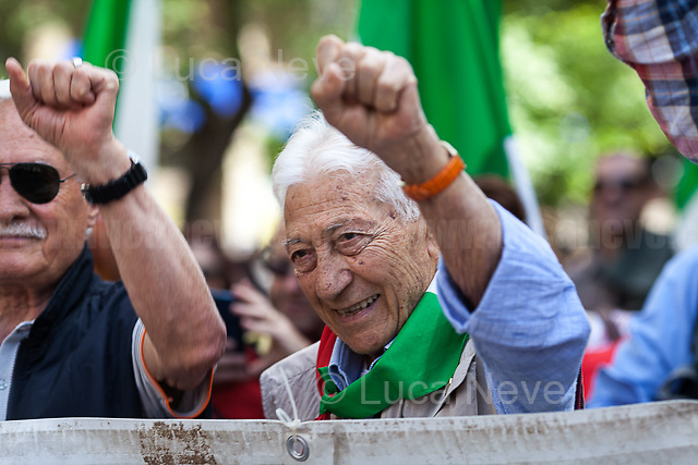"Arnaldo ""Nando"" Cavaterra (Antifascist Partizan. Member of the Partigiani: the Italian Resistance during WWII).<br />