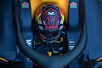 Verstappen, Formula 1 pilot of the Red Bull Team, shooting during the second day of the test days of Formula 1, held at the Catalunya circuit (Montmelo) Catalonia February 27th  of 2018