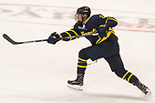Ryan Cook (Merrimack - 2) - The visiting Merrimack College Warriors defeated the Boston University Terriers 4-1 to complete a regular season sweep on Friday, January 27, 2017, at Agganis Arena in Boston, Massachusetts.The visiting Merrimack College Warriors defeated the Boston University Terriers 4-1 to complete a regular season sweep on Friday, January 27, 2017, at Agganis Arena in Boston, Massachusetts.