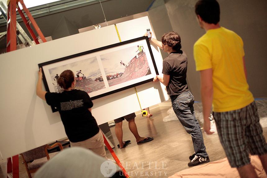 06012009- Seattle University BFA exhibition.09 Photography, Vashon Room