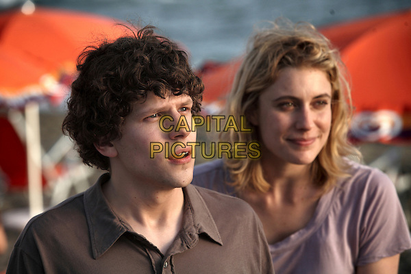 Jesse Eisenberg & Greta Gerwig.in To Rome with Love .*Filmstill - Editorial Use Only*.CAP/FB.Supplied by Capital Pictures.