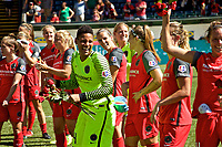 Portland, OR - Saturday September 02, 2017: Adrianna Franch after a regular season National Women's Soccer League (NWSL) match between the Portland Thorns FC and the Washington Spirit at Providence Park.