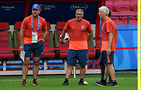 KAZAN - RUSIA, 23-06-2018: Jose PEKERMAN técnico de Colombia, durante entrenamiento en Kazan Arena previo al encuentro del Grupo previo al encuentro del grupo H  con Polonia como parte de la Copa Mundo FIFA 2018 Rusia. / Jose PEKERMAN coach of Colombia during training session in KazanArena prior the group H match with Poland as part of the 2018 FIFA World Cup Russia. Photo: VizzorImage / Julian Medina / Cont