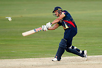 Marcus Stoinis hits out for Kent during the Vitality Blast T20 game between Kent Spitfires and Essex Eagles at the St Lawrence Ground, Canterbury, on Thu Aug 2, 2018