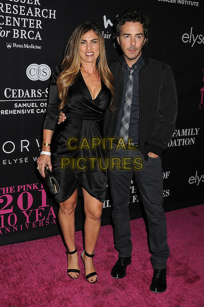 18 October 2014 - Santa Monica, California - Serena Levy, Shawn Levy. Elyse Walker's 10 Year Anniversary Pink Party held at Santa Monica Airport Hangar 8.  <br /> CAP/ADM/BP<br /> &copy;Byron Purvis/AdMedia/Capital Pictures