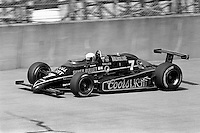 BROOKLYN, MI - SEPTEMBER 22: Geoff Brabham drives the Rick Galles March 85C/Cosworth during the Detroit News 200 CART Indy Car race at the Michigan International Speedway near Brooklyn, Michigan, on September 22, 1985.
