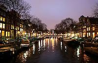 Nederland  Amsterdam 2016. De Brouwersgracht.  Foto Berlinda van Dam / Hollandse Hoogte