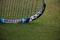 England, London, 26.06.2014. Tennis, Wimbledon, AELTC, Racket<br /> Photo: Tennisimages/Henk Koster