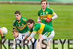 Sean T Dillon Tadhg Morley Kerry in action against Gavin O'Shea IT Tralee in the McGrath cup at Austin Stack Park on Sunday.