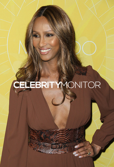 NEW YORK CITY, NY, USA - APRIL 25: Iman at the 2014 Variety Power Of Women: New York Luncheon held at Cipriani 42nd Street on April 25, 2014 in New York City, New York, United States. (Photo by Jeffery Duran/Celebrity Monitor)