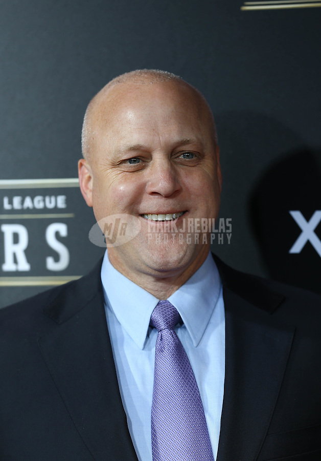 Feb. 2, 2013; New Orleans, LA, USA: New Orleans mayor Mitch Landrieu on the red carpet prior to the Super Bowl XLVII NFL Honors award show at Mahalia Jackson Theater. Mandatory Credit: Mark J. Rebilas-USA TODAY Sports