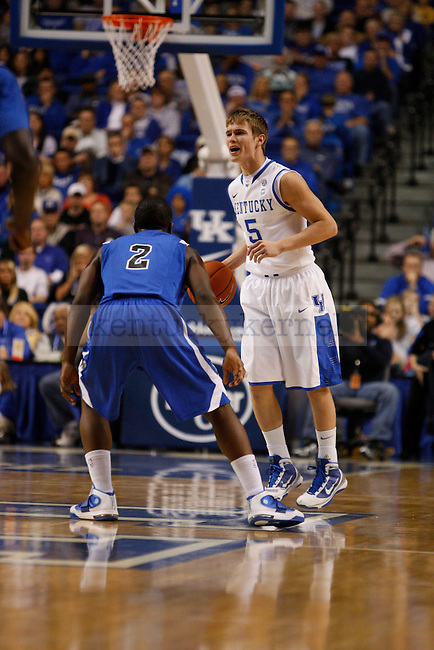 Jarrod Polson played during the UK vs. Dillard University game at Rupp Arena on November 5, 2010.  Photo by Latara Appleby | Staff