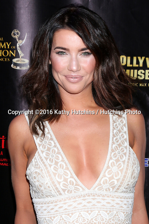 LOS ANGELES - APR 27:  Jacqueline MacInnes Wood at the 2016 Daytime EMMY Awards Nominees Reception at the Hollywood Museum on April 27, 2016 in Los Angeles, CA