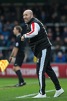 Crawley Town assistant manager Jimmy Dack during the Sky Bet League 2 match between Wycombe Wanderers and Crawley Town at Adams Park, High Wycombe, England on 28 December 2015. Photo by Andy Rowland / PRiME Media Images