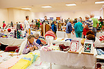 Inside of the the annual Arts and Crafts Festival where 37 Sun City clubs sold their wares to more than 16,000 shoppers over three days in Sun City, Arizona in late November 2013.
