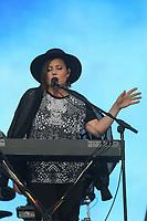 Ariane Moffatt performs at the Festival d'ete de Quebec (Quebec City Summer Festival) Tuesday July 14, 2015.