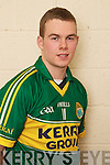 Sean McCarthy member of the Kerry U-21 panel 2012