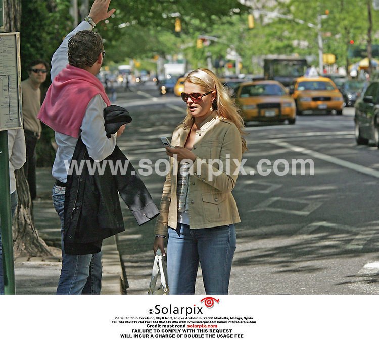 ALL ROUND PICTURES FROM SOLARPIX.COM.*MUST CREDIT SOLARPIX.COM OR DOUBLE FEE WILL BE CHARGED*.The Swedish Royals visit Central park in New York yesterday with the princess Madeleine with her new boyfriend Jonas Bergstrom they had lunch with the king Carl Gustaf and Queen Silvia at the famous Boat house on the lake of Central Park..This pic:PRINCESS MADERLEINE,JONAS BERGSTROM.DATE:19.05.06-DNA