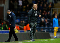 Preston North End manager Alex Neil shouts instructions to his team from the technical area<br /> <br /> Photographer Alex Dodd/CameraSport<br /> <br /> The EFL Sky Bet Championship - Blackburn Rovers v Preston North End - Saturday 11th January 2020 - Ewood Park - Blackburn<br /> <br /> World Copyright © 2020 CameraSport. All rights reserved. 43 Linden Ave. Countesthorpe. Leicester. England. LE8 5PG - Tel: +44 (0) 116 277 4147 - admin@camerasport.com - www.camerasport.com