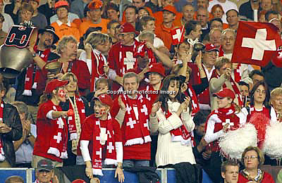 Swiss supporters