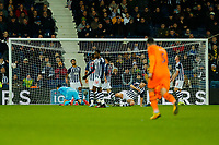 3rd March 2020; The Hawthorns, West Bromwich, West Midlands, England; English FA Cup Football, West Bromwich Albion versus Newcastle United; The ball goes into the West Bromwich Albion net for Newcastle United's second goal after 45 minutes (0-2)