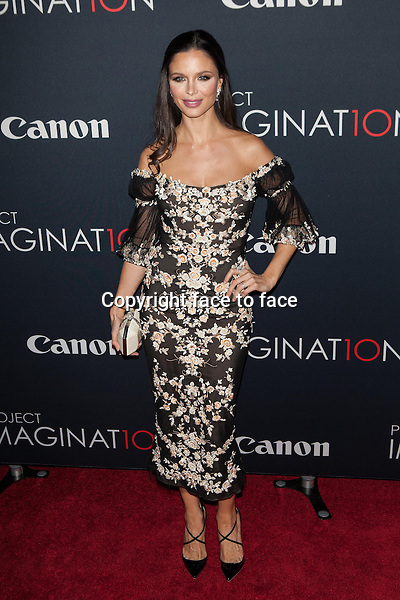 NEW YORK, NY - OCTOBER 24, 2013: Georgina Chapman attends the Premiere Of Canon's Project Imaginat10n Film Festival at Alice Tully Hall on October 24, 2013 in New York City. <br />