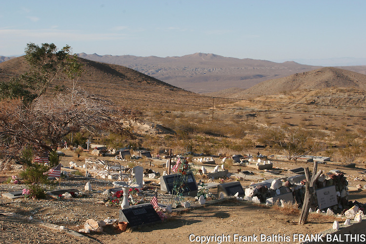 Cemetery at Randsburg