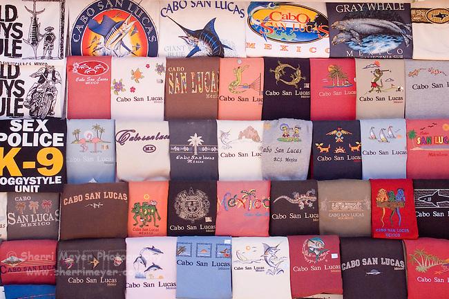 Tee shirt stand, Cabo San Lucas, Baja California, Mexico