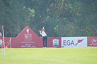 Christian Bezuidenhout (RSA) on the 5th tee during the Pro-Am of the Abu Dhabi HSBC Championship 2020 at the Abu Dhabi Golf Club, Abu Dhabi, United Arab Emirates. 15/01/2020<br /> Picture: Golffile | Thos Caffrey<br /> <br /> <br /> All photo usage must carry mandatory copyright credit (© Golffile | Thos Caffrey)