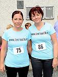Lynn Kierans and Ann Maher who took part in the Newtown Blues 12.5K run. Photo: Colin Bell/pressphotos.ie