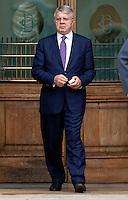 Piero Longo<br /> Roma 02-10-2014 Montecitorio. Senatori e Deputati escono dalla Camera dov'e' riunito il Parlamento in seduta comune per l'elezione di membri della consulta.<br /> Photo Samantha Zucchi Insidefoto