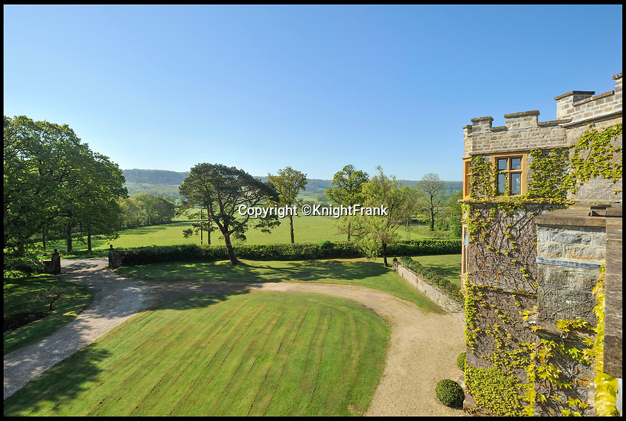 BNPS.co.uk (01202 558833)Pic: KnightFrank/BNPS<br /> <br /> Hilfield Manor's grounds.<br /> <br /> A country manor house which once inspired Victorian author Thomas Hardy has gone on the market for £2.35m.<br /> <br /> The writer was friends with the former owners of Hilfield Manor and visited the property over 100 years ago.<br /> <br /> Indeed, there is a photograph of him with his wife Florence stood in the front porch.<br /> <br /> The manor is in the Dorset village of Hermitage, which Hardy called Little Hintock in his novel The Woodlanders.<br /> <br /> The property was built in the late 19th century by the Dampier-Bide family who were descendants of the famous British explorer and privateer William Dampier.