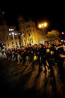 European General Strike.Protesters_España