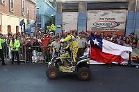 Dakar 2014 Premiación Valparaíso